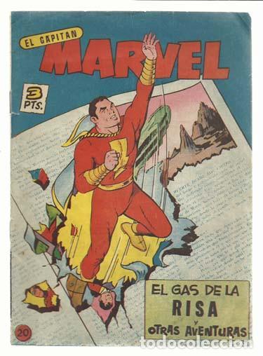 EL CAPITÁN MARVEL 20, 1961, BUEN ESTADO. (Tebeos y Comics - Hispano Americana - Capitán Marvel)