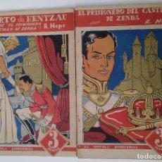 Tebeos: LA NOVELA QUINCENAL. EL PROSIONERO DEL CASTILLO DE ZENDA. Lote 80905992