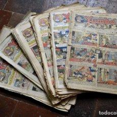 Tebeos: GRAN LOTE DE 80 NUMEROS / YUMBO - EL ELEFANTE SABIO Y SU PANDILLA / AÑO 1935. Lote 81594960