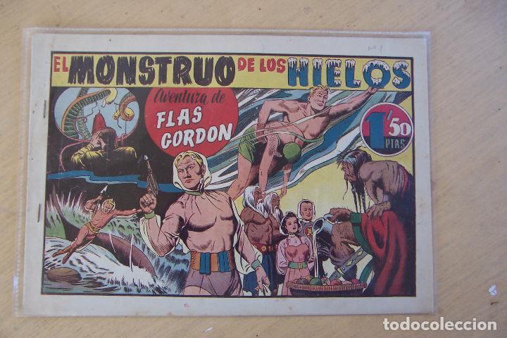 HISPANO AMERICANA, LOTE DE FLAS GORDON Nº 1-2-3-4-5-6-7-11-12-14-16-17 Y 18 ULTIMO (Tebeos y Comics - Hispano Americana - Flash Gordon)