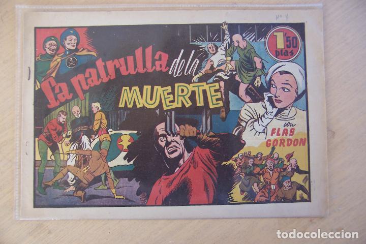 Tebeos: hispano americana, lote de flas gordon nº 1-2-3-4-5-6-7-11-12-14-16-17 y 18 ultimo - Foto 5 - 81666996