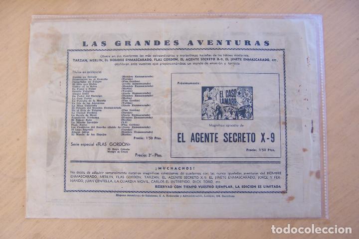 Tebeos: hispano americana, lote de flas gordon nº 1-2-3-4-5-6-7-11-12-14-16-17 y 18 ultimo - Foto 12 - 81666996