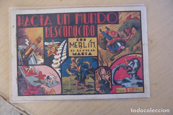 Tebeos: hispano americana, lote de merlín el mago, ver - Foto 3 - 81703172