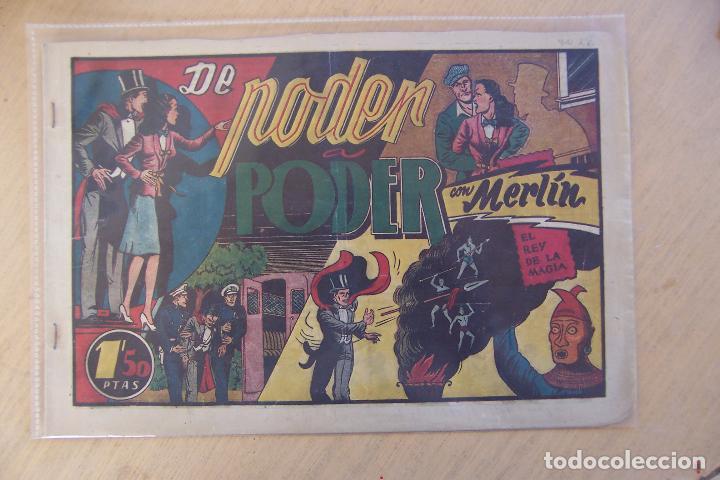 Tebeos: hispano americana, lote de merlín el mago, ver - Foto 15 - 81703172
