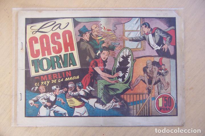 Tebeos: hispano americana, lote de merlín el mago, ver - Foto 17 - 81703172