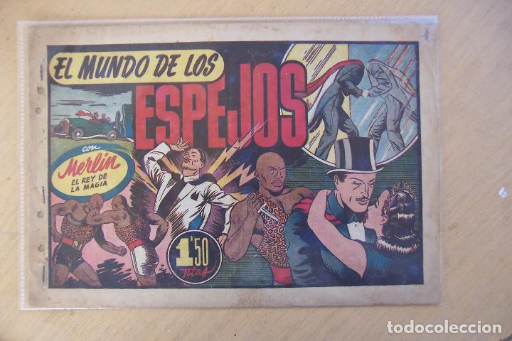 Tebeos: hispano americana, lote de merlín el mago, ver - Foto 19 - 81703172