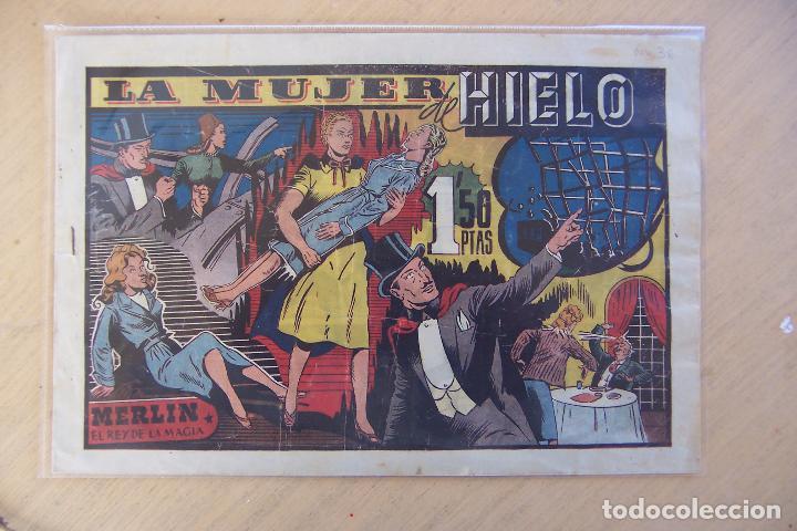 Tebeos: hispano americana, lote de merlín el mago, ver - Foto 21 - 81703172