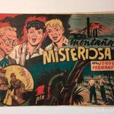 LA MONTAÑA MISTERIOSA CON JORGE Y FERNANDO , ORIGINAL . HISPANO AMERICANA