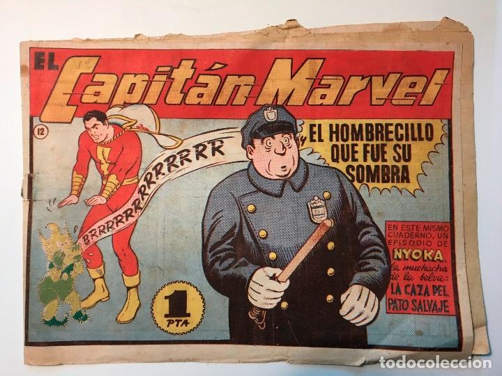 EL CAPITAN MARVEL, EL HOMBRECILLO QUE FUE SU SOMBRA , Nº 12 , HISPANO AMERICANA, ORIGINAL (Tebeos y Comics - Hispano Americana - Capitán Marvel)