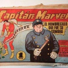 Tebeos: EL CAPITAN MARVEL, EL HOMBRECILLO QUE FUE SU SOMBRA , Nº 12 , HISPANO AMERICANA, ORIGINAL. Lote 81950604