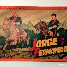 Tebeos: ALBUM JORGE Y FERNANDO Nº 4 ED. HISPANO AMERICANA ED. HISPANO AMERICANA BARCELONA TAPADURA ORIGINAL. Lote 82014224