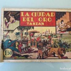 Tebeos: TARZAN - LA CIUDAD DEL ORO - H.AMERICANA A.1942. ORIGINAL. Lote 82671980