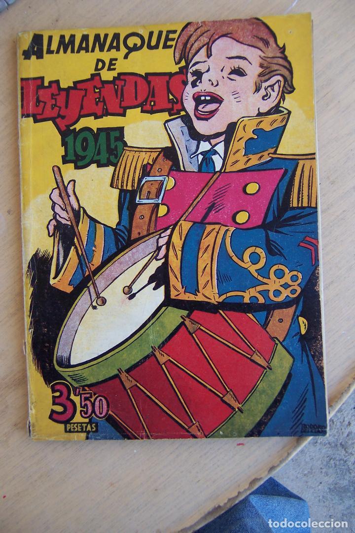 Tebeos: hispano americana lote leyendas infantiles 84 al 182 y muestras de la 1º y 3ª ep.y almanaques - Foto 12 - 64073673