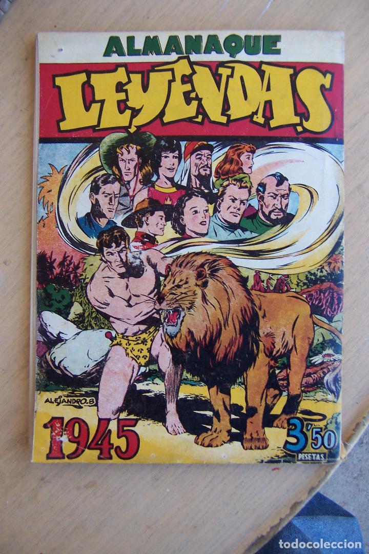 Tebeos: hispano americana lote leyendas infantiles 84 al 182 y muestras de la 1º y 3ª ep.y almanaques - Foto 13 - 64073673