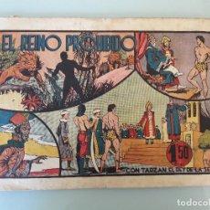 Tebeos: TARZAN - EL REINO PROHIBIDO - H.AMERICANA A.1942. ORIGINAL. Lote 83584372