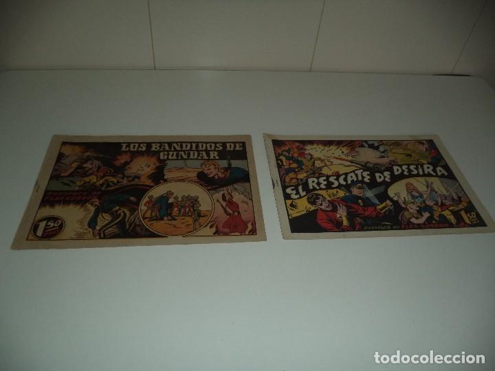 FLAS GORDON, AÑO 1.946. Nº 10 - 13. ORIGINALES DIBUJANTE ALEX RAYMOND. EDITORIAL HISPANO AMERICANA (Tebeos y Comics - Hispano Americana - Flash Gordon)