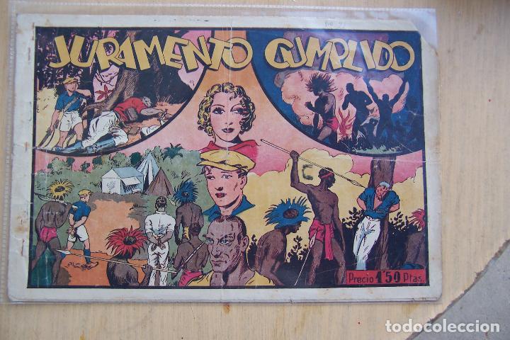 Tebeos: hispano americana, juan y luis nº 1 y 2 nº mas - Foto 3 - 83962536