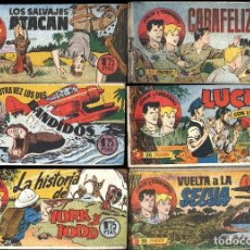 Tebeos: JORGE Y FERNANDO HISPANO AMERICANA COMPLETA 159 NºS 1949 ARCON PASILLO. Lote 84391584