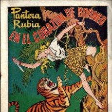 Tebeos: PANTERA RUBIA Y TARZAN COMPLETA 59NºS(-Nº59) HISPANO AMERICANA 1949 ARCON PASILLO. Lote 84391852
