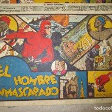 Tebeos: COLECCION EL HOMBRE ENMASCARADO LOTE ORIGINAL 1941. Lote 84397800