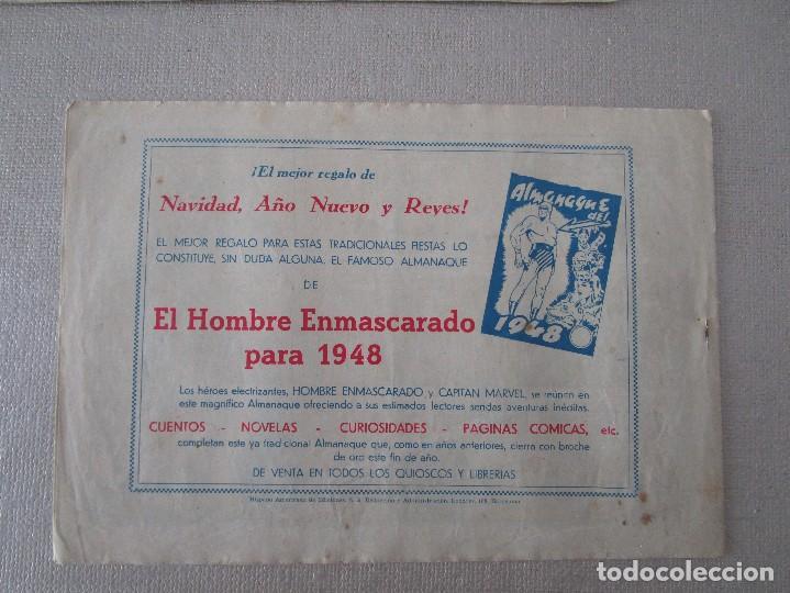 Tebeos: COLECCION EL HOMBRE ENMASCARADO LOTE ORIGINAL 1941 - Foto 3 - 84397800