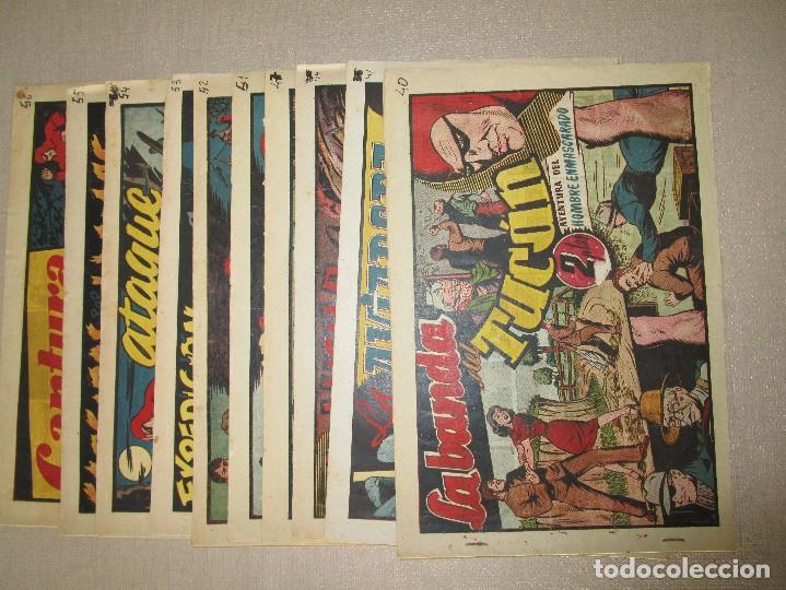 Tebeos: COLECCION EL HOMBRE ENMASCARADO LOTE ORIGINAL 1941 - Foto 7 - 84397800