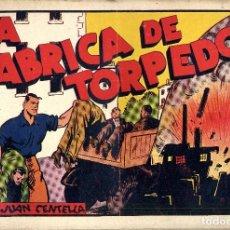 Tebeos: JUAN CENTELLA HISPANO AMERICANA AÑO 1942 TAMAÑO 31X22 NºS DEL 1 AL 28 ARCON PASILLO. Lote 84447056