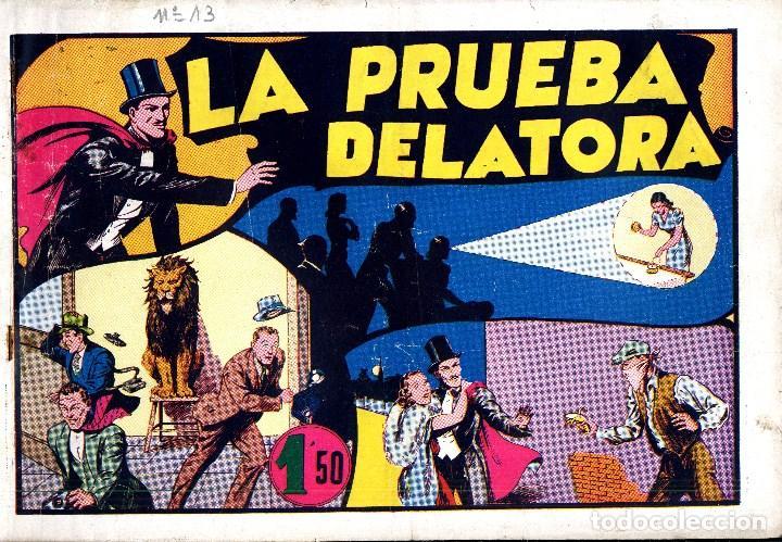 Tebeos: MERLIN HISPANO AMERICANO EDICIONES AÑO 1942 ORIGINALES COMPLETA 45 NºS ARCON PASILLO - Foto 3 - 84603668