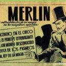 Tebeos: MERLIN HISPANO AMERICANO EDICIONES AÑO 1942 ORIGINALES COMPLETA 45 NºS ARCON PASILLO. Lote 84603668