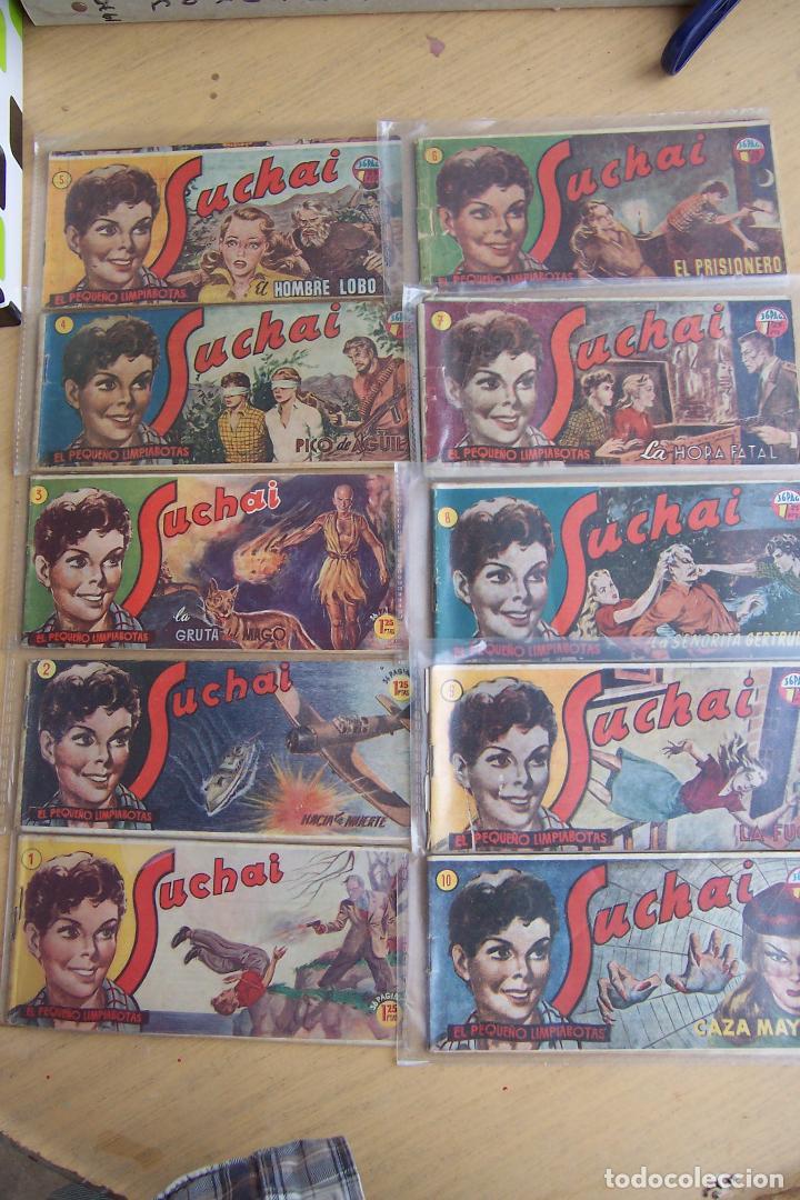HISPANO AMERICANA, LOTE DE 225 Nº DE SUCHAI Y ALMANAQUE 1955 Y 1956 (Tebeos y Comics - Hispano Americana - Suchai)