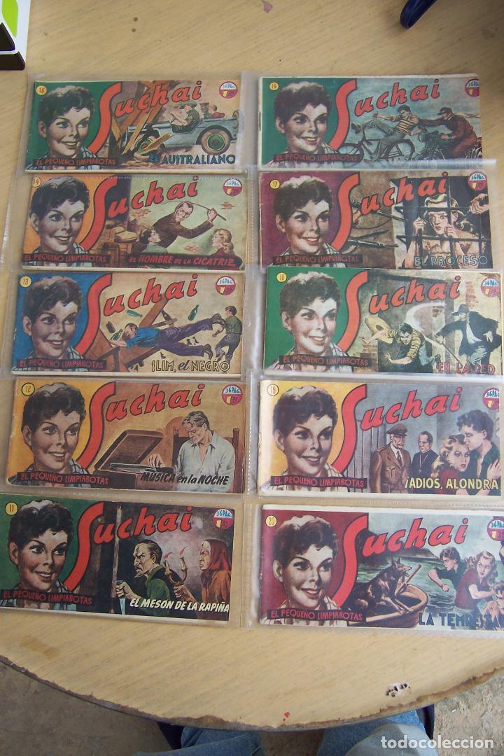 Tebeos: hispano americana, lote de 225 nº de suchai y almanaque 1955 y 1956 - Foto 2 - 84704212