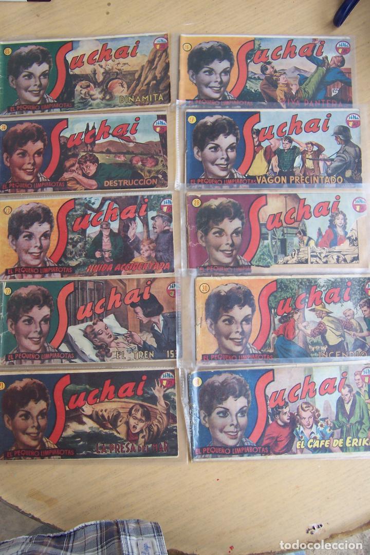 Tebeos: hispano americana, lote de 225 nº de suchai y almanaque 1955 y 1956 - Foto 3 - 84704212