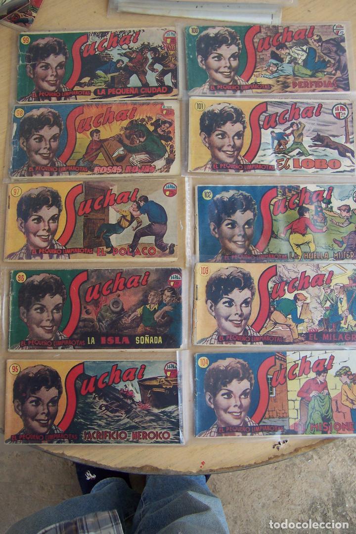 Tebeos: hispano americana, lote de 225 nº de suchai y almanaque 1955 y 1956 - Foto 10 - 84704212