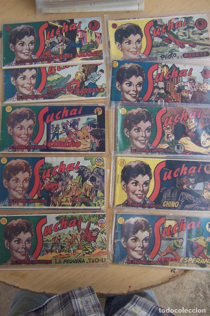 Tebeos: hispano americana, lote de 225 nº de suchai y almanaque 1955 y 1956 - Foto 11 - 84704212