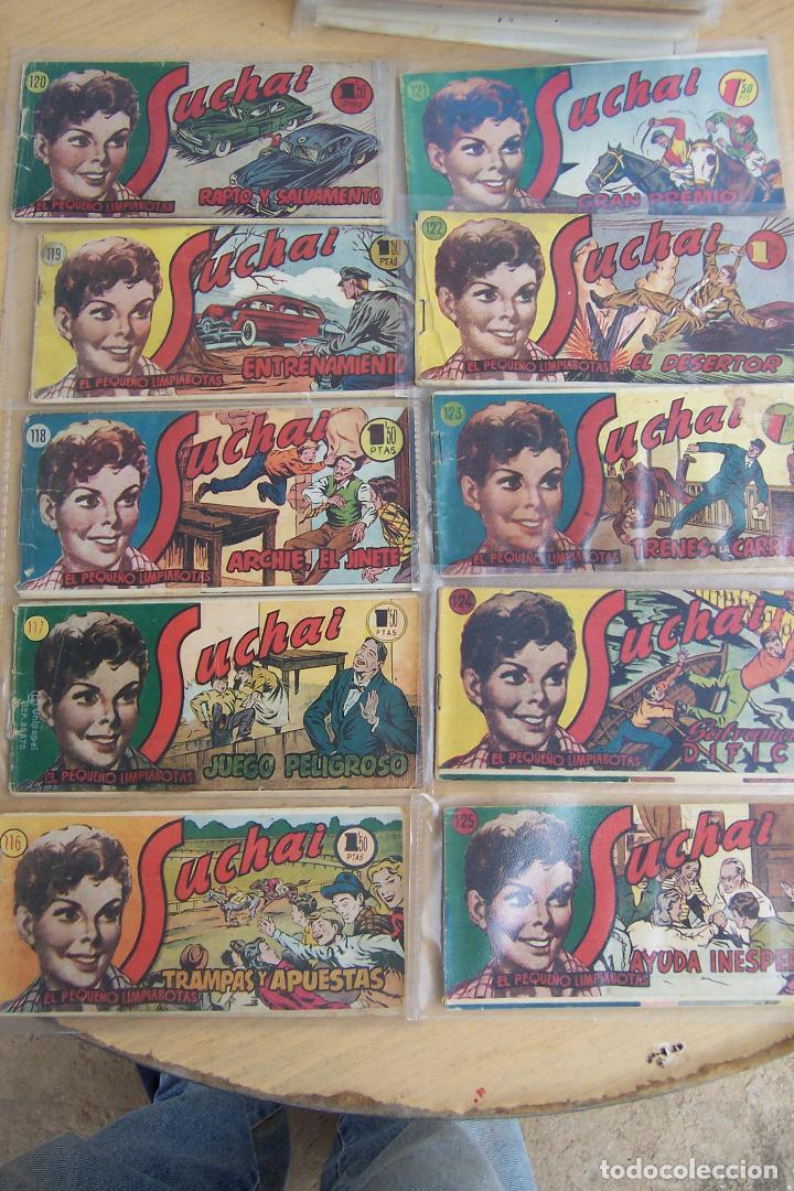 Tebeos: hispano americana, lote de 225 nº de suchai y almanaque 1955 y 1956 - Foto 12 - 84704212