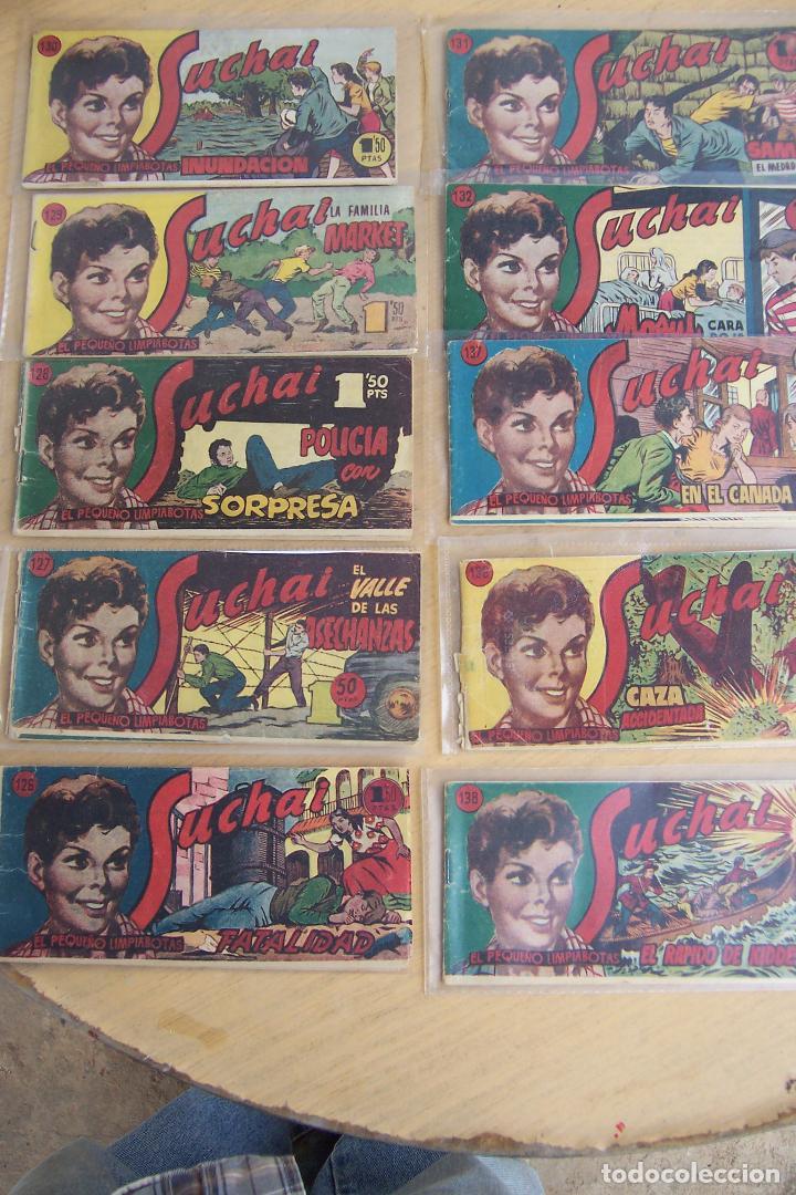 Tebeos: hispano americana, lote de 225 nº de suchai y almanaque 1955 y 1956 - Foto 13 - 84704212