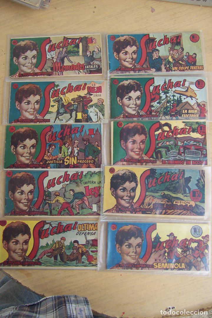 Tebeos: hispano americana, lote de 225 nº de suchai y almanaque 1955 y 1956 - Foto 14 - 84704212