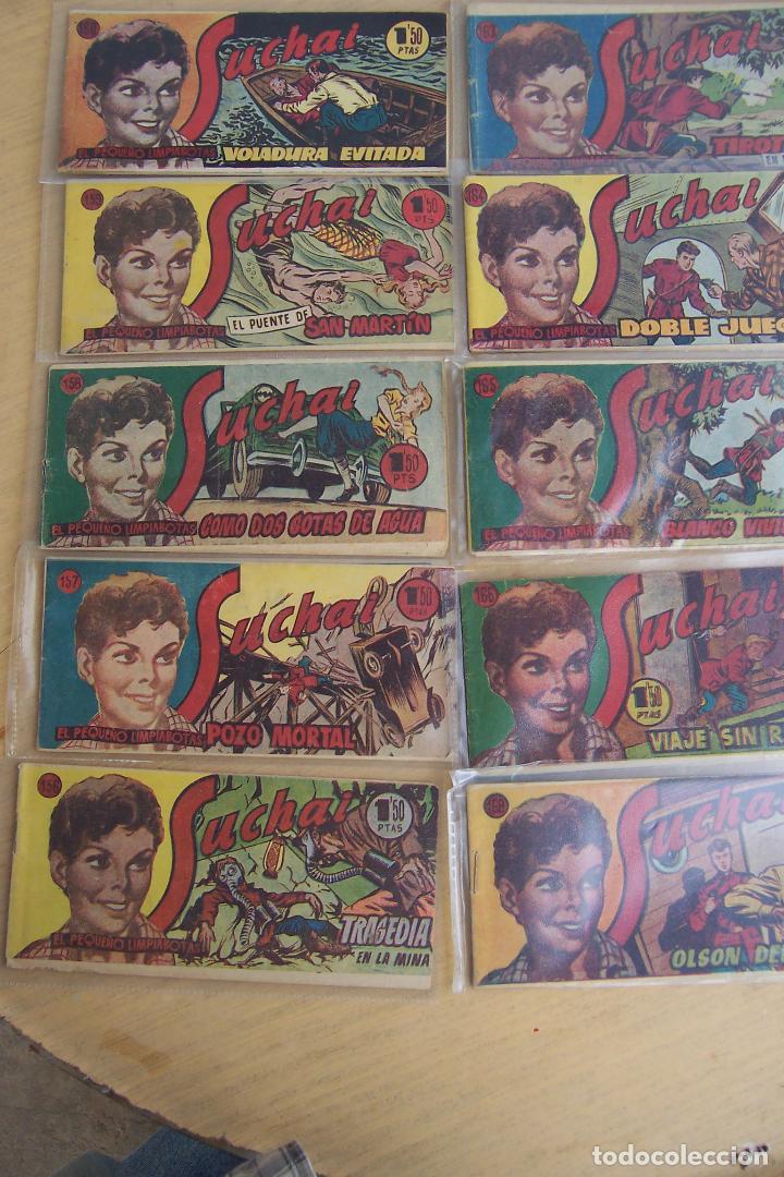 Tebeos: hispano americana, lote de 225 nº de suchai y almanaque 1955 y 1956 - Foto 15 - 84704212