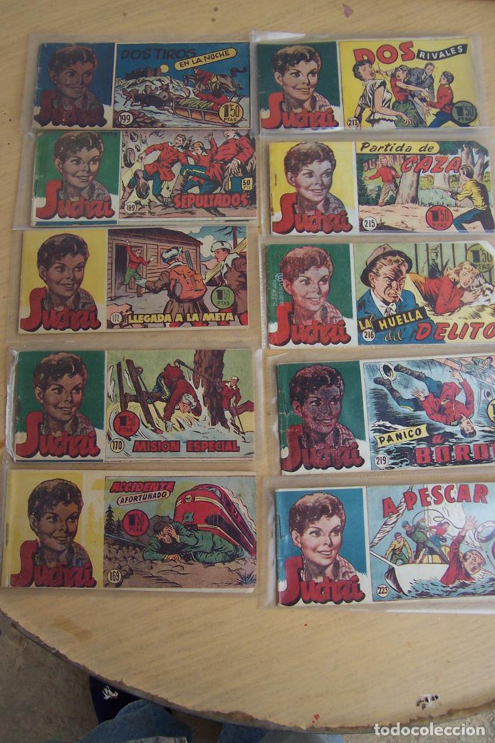 Tebeos: hispano americana, lote de 225 nº de suchai y almanaque 1955 y 1956 - Foto 16 - 84704212