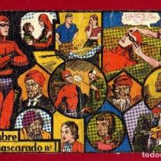 Tebeos: HOMBRE ENMASCARDO AÑO 1941 HISPANO AMERICANA EDICIONES COMPLETA 105 NºS ARCON PASILLO. Lote 84488916