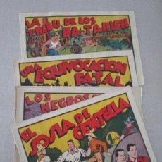 Tebeos: LOTE TEBEOS ANTIGUOS JUAN CENTELLA 1940 ORIGINALES. Lote 84842204