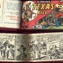 Tebeos: TEXAS BILL 1949 120 EJEMPLARES ENCUADERNADOS 4 TOMOS SIN CORTES EN LAS VIÑETAS ARCON DE PAJA. Lote 84938352