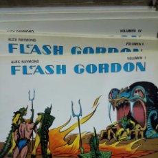 Tebeos: SIETE TOMOS FLASH GORDON/ALEX RAYMOND. EDICIONES B.O 1980. Lote 86420424