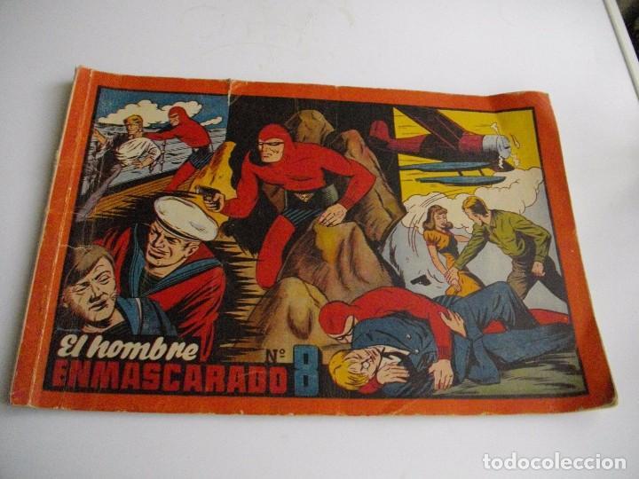 EL HOMBRE ENMASCARADO, Nº8. HISPANO AMERICANO. EL DE LAS FOTOS VER TODOS MIS LOTES DE COMICS (Tebeos y Comics - Hispano Americana - Hombre Enmascarado)