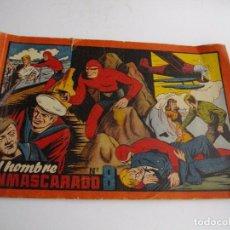 Tebeos: EL HOMBRE ENMASCARADO, Nº8. HISPANO AMERICANO. EL DE LAS FOTOS VER TODOS MIS LOTES DE COMICS. Lote 86471976
