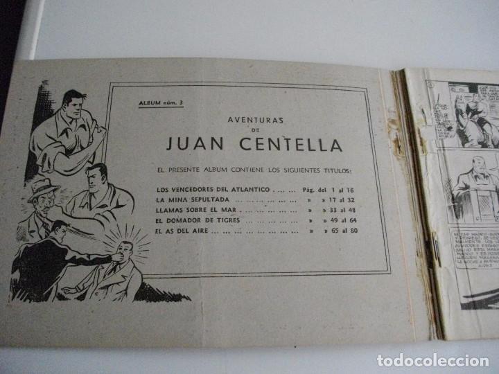 Tebeos: COLECCION JUAN CENTELLA ALBUN. Nº 3 : EL DE LAS FOTOS VER TODOS MIS LOTES DE COMICS - Foto 2 - 86473968
