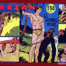 Tebeos: TARZAN HISPANO AMERICANA NºS 1 AL 5 PROCEDENTE DE RETAPADO DE ESTA EDITORIAL ARCON PASILLO. Lote 86534012