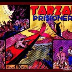 Tebeos: TARZAN HISPANO AMERICANA 1942 RETAPADO PRODEDENTE DEL Nº2 SOLO NºS 7,8 Y 9 ARCON PASILLO. Lote 86547332