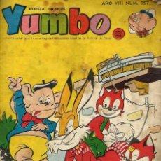 Tebeos: YUMBO Nº 357 - HISPANOAMERICANA 1960 - VER DESCRIPCION . Lote 87094900
