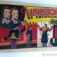 Livros de Banda Desenhada: JUAN CENTELLA - EL LANZADOR DE CUCHILLOS (MUY BIEN CONSERVADO)- VENDIDO. Lote 87233448